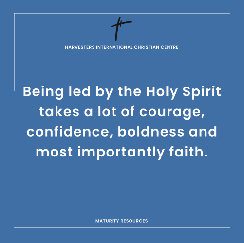 THE LEADING OF THE HOLY SPIRIT Navigate |